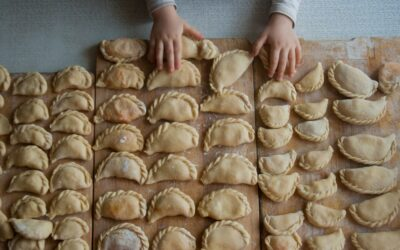 Ukrainian Homemade Perogies
